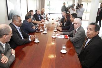 Dirigentes da UGT pedem que Rodrigo Maia adie votação da Reforma da Previdência