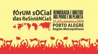 Movimentos Sociais lançam o Fórum Social das Resistências 2020
