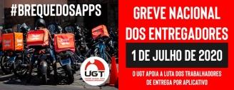 Entregadores de aplicativos pedem apoio da população à greve nacional