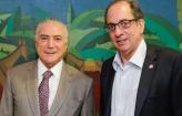 Temer recebe presidente da UGT em Brasília