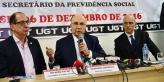 Ministro Meirelles explica propostas de reforma da previdência na sede da UGT