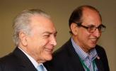 Presidente Michael Temer garante a UGT que mantém o imposto sindical