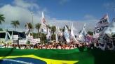 Brasília tem a maior mobilização contra conjunto de reformas do governo federal