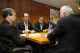 Ministro do trabalho discute com sindicalista garantir de direitos dos trabalhadores
