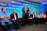 Pré-candidato Geraldo Alckmin participa de Seminário 1º de Maio