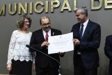 Paulo Barck, do Sinecarga, é Cidadão Honorário de Porto Alegre