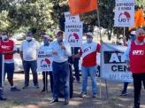 UGT e Centrais sindicais realizam ato unitário em Brasília por emprego e renda